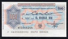 IBI IST.BANCARIO ITALIANO 1976 SEP SPA IL SECOLO XIX/GENOVA/PAPER MONEY FDS/UNC