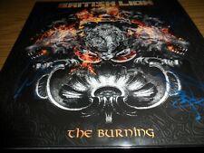 BRITISH LION signed/autograph THE BURNING vinyl album STEVE HARRIS IRON MAIDEN