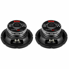 BOSS Audio Systems 600-Watt 8-Inch Car Subwoofer Audio Speaker, Single (2 Pack)