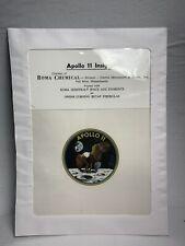 Apollo 11 Official Beta Cloth Patch Original NASA NOS