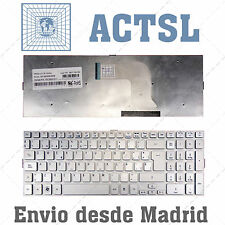 Keyboard Spanish for Acer Aspire 5943G  Silver Plata