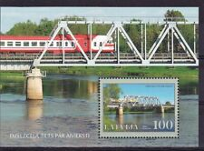 MNH Latvia stamps - Train Bridge 2007, Souvenire sheet, Mi.Nr. Bl.23