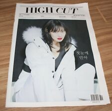 HIGH CUT VOL.207 SHIN MINA KOREA MAGAZINE TABLOID NEW