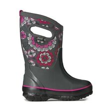 BOGS CLASSIC PANSIES GIRLS KIDS SNOW,RAIN BOOTS SIZE- Youth?5 NEW