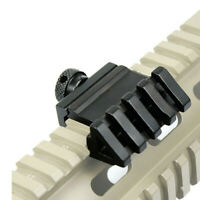 """2"""" 45 Degree Offset Rail Mount Quick Release Sights for Picatinny&Weaver Rails"""