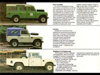 LAND ROVER 1957-1958 SERIES-I /'88/' RETRO POSTER BROCHURE CLASSIC ADVERT A3