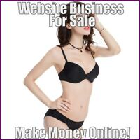 WOMENS LINGERIE Website Earn $19.40 A SALE|FREE Domain|FREE Hosting|FREE Traffic