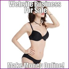 WOMENS LINGERIE Website Earn $19.40 A SALE FREE Domain FREE Hosting FREE Traffic