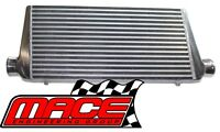 "MACE BAR AND PLATE FRONT MOUNT INTERCOOLER - 600 X 300 X 76 WITH 2.5"" OUTLETS"