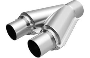 MagnaFlow Y-Pipe Transition Stainless Steel Performance Exhaust 2.5/2.25 #10758
