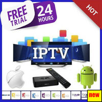 12 MONTHS IPTV SUBSCRIPTION FOR +12000 Channels, VOD, Series, Adults.. 24H FREE