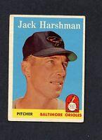1958 TOPPS #217 Jack Harshman VGEX C0006370