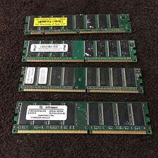 Lot 4 - SD, BRAVO, PNY, Infineon, 128, 2 - 512 MB & 1 GB DIMM DDR2 Memory