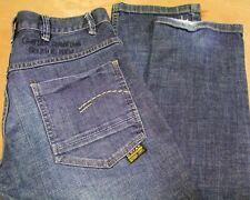 "G-Star Raw Radar low Loose jeans in Denim Casual Blu Scuro Vita 30"" Gamba 32"" 30R"