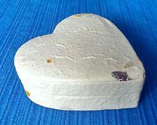 Heart Gift Box-  Handmade Mulberry Paper Gift Box/Wedding/Craft/Anniversary/Leaf