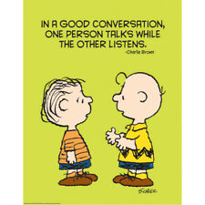 Peanuts Talk And Listen 17X22