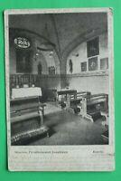 OBB) Bayern AK München 1909 Privatheilanstalt Josephinum Kapelle Innenarchitektu