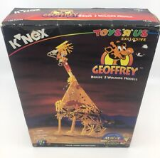 NEW K'NEX Geoffrey 12133 Toys R Us Exclusive W/ Power Controller & Yellowsaurus