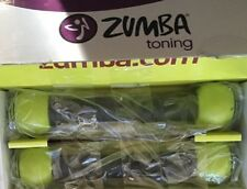 Zumba Toning Body Shaping System Toning Shakers Sticks New in box