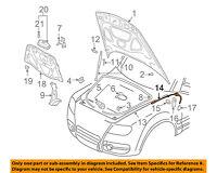 VW VOLKSWAGEN OEM 04-10 Touareg Hood-Latch Lock Release Cable 7L6823535C