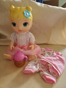 2015 Baby Alive Make Me Feel Better Doll & Disappearing Juice Cup