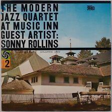 MODERN JAZZ QUARTET: At Music Inn Guest Artist Sonny Rollins ATLANTIC Jazz LP NM