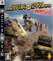 USED ​​PS3 motorstorm complete sony playstation 3 Japan import