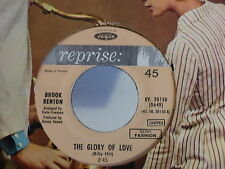 BROOK BENTON Weakness in a man / The glory of love RV20150 VOGUE REPRISE