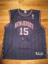 Reebok VINCE CARTER No. 15 NEW JERSEY NETS (XL) Jersey