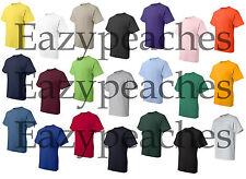 Peaches Pick Mens Tall POCKET Tees LT-2XLT 3XLT 4XLT 50/50 COTTON BLEND T-Shirts