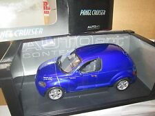 2001 AUTOART PT CRUISER CHRYSLER BLUE PANEL 1/18 AUTO ART DIECAST CAR