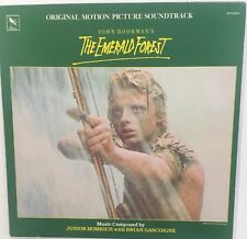 THE EMERALD FOREST Soundtrack Varese Sarabande 1985 Junior Homrich EX LP