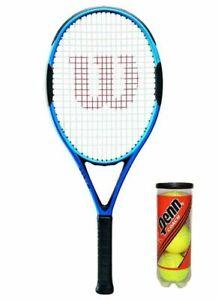 Wilson Hammer H4 Tennis Racket + 3 Tennis Balls RRP £120 L3