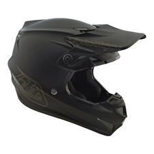 2018 Troy Lee Designs SE4 X-Large  XL Mono Matte Black  MX Helmet TLD Motocross