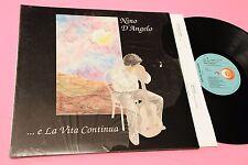 NINO D'ANGELO LP E LA VITA CONTINUA ORIGINALE EX COPERTINA APRIBILE E INNER TEST
