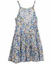 RARE EDITIONS® Little Girls 5 Blue Floral Print Sundress NWT $44