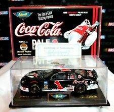 1998 Revell #1 Dale Earnhardt Jr. Coca-Cola Monte Carlo 1/24 w/ Display Case COA