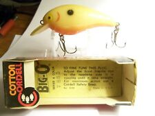 (1)Cotton Cordell Big-O #7885 (nisb) 2-1/2in.Body,Crankbaits,Lure,Old Tackle,Box