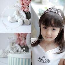 Rhinestone Kid Tiara Hair Band Girl Bridal Princess Prom Crown Wedding Headband