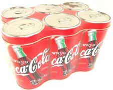Vintage Coca Cola Six Pack Collectors Tin 1998
