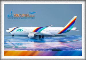 "Phoenix 1:400 JAS - Japan Air System Boeing 777-200 ""Rainbow - JA007D"" 4378"