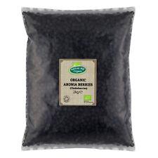 Organic Aronia Berries (Chokeberries) 2kg Certified Organic