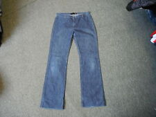"Just Cavalli Bootcut Jeans Waist 29"" Leg 32"" Faded Dark Blue Ladies Jeans"