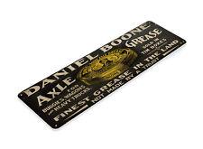 TIN SIGN Daniel Boone Grease Metal Décor Wall Art Store Shop A319