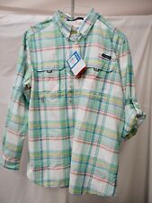 Columbia Super Bonehead PFG Tactical Nylon Vented-Back Long Sleeve Shirt XL NEW