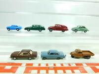 BT398-0,5# 7x Wiking H0/1:87 PKW: Tatra 87+Volvo 264+Goli+Saab+DKW etc, s.g.