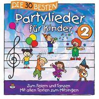 DIE 30 BESTEN PARTYLIEDER FÜR KINDER 2 - SOMMERLAND,DIE LAMP UND LEUTE  CD NEU