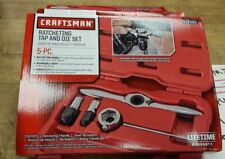 BRAND NEW ORIGINAL Craftsman 5pc Ratcheting Tap And Die Set 17486 FREE SHIPPING