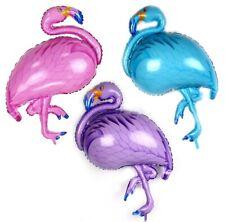 "XL 37"" Flamingo foil balloon Pink, Purple or Blue 93cm"