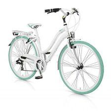 Fahrräder in Weiß